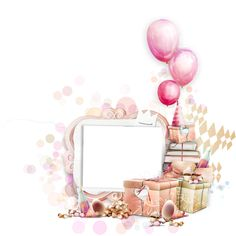 Picture Frame for scrape booking Happy Birthday Logo, Happy Birthday Frame, Happy Birthday Wallpaper, Happy Birthday Girls, Birthday Frames, Minnie Birthday, 25th Birthday, Birthday Card Template, Birthday Cards
