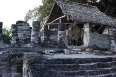 Mayan ruins on Cozemel, Mexico.