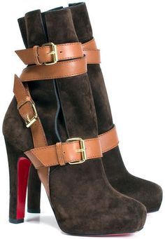 straps and buckles from Christian Louboutin