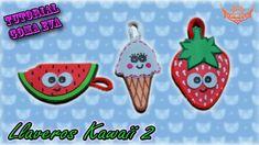 ♥ Tutorial: Llaveros Kawaii 2 de Goma Eva (Foamy) ♥