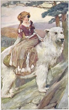 East of the Sun and West of the Moon -- A. A. Dixon -- Fairytale Illustration