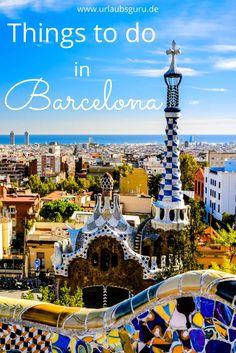 Barcelona, meine Liebe! Hier lest ihr, was ihr bei einem Besuch der katalanischen Stadt auf keinen Fall verpassen dürft.