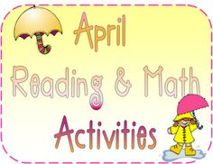 FREE reading and math station stuff from Inspired by Kindergarten