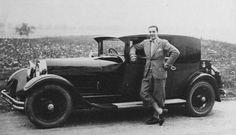 Jean Bugatti and Bugatti T44