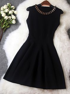 Elegant little black dress