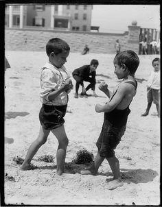 Atlantic City Beach 1900