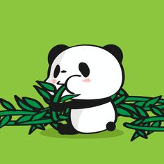 野菜の日 LINEスタンプで大人気!毎日更新「今日のお買いものパンダ」を見逃すな!今まで明かされなかったお買いものパンダの生態も少しだけ公開!