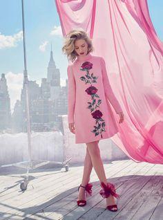 Rosie Huntington Whiteley by Alexi Lubomirski for Harper's Bazaar UK September 2015