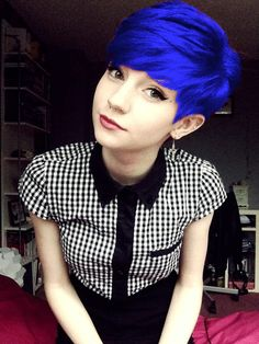 Blue Pixie! (edited with LunaPic)