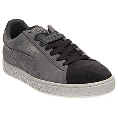 Suede Classic Men's Fashion Sneakers Shoes Gray Size 9