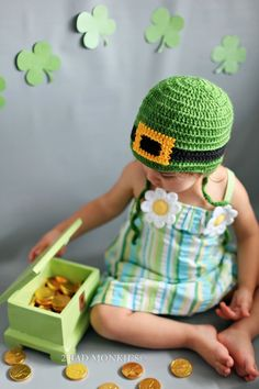 Cute St. Paddy's Day hat
