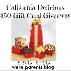 Great giveaway from We're Parents Blog