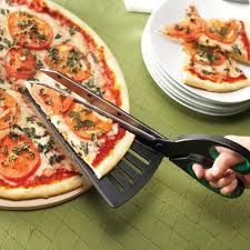Pizza Scissors... Shaunda, could so use these tonight