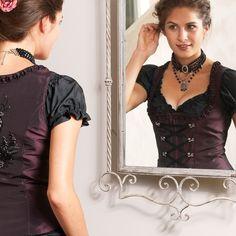 "Dirndlbluse ""Lara"", Carmen-Stil | Blusen | Trachten | Mode"