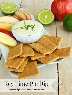 Creamy Key Lime Pie Dip. This dip is delicious twist key lime pie. It ...