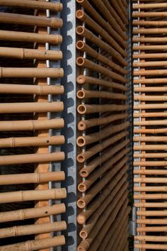Bamboo window shades...I want these for our downstairs bathroom! LOVE THESE!