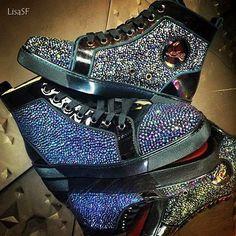 The finest Christian Louboutin mens sneaker icon Louis
