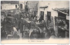 Judaica Oran Algeria Street of The Jews. A hard life I think. Life Is Hard, Present Day, Cool Photos, Bled, Street, Decor, Antique Maps, Black N White, Decoration