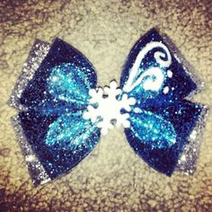 Elsa from Disneys frozen bow version 2 by BrookeHyland345 on Etsy, $7.00