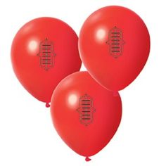 Aussie Rules Football party for kids. Decorate red balloons with permanent marker. Sports Birthday, Sports Party, Birthday Party Themes, 5th Birthday, Balloon Painting, Printed Balloons, Party Venues, Childrens Party, Party Supplies