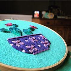 "1,163 Me gusta, 5 comentarios - Embroidery World (@_mylittleneedle_) en Instagram: ""@_mylittleneedle_ . . . Cr: @marable.lake #mylittleneedle #embroidery #embroideryworld #handmade…"""