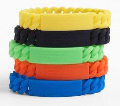 'Rubber Standard Supply' Stretch ID Bracelets