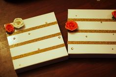 Looking for a fun way to ask your girlfriends to be your bridesmaid?Check out this fun idea from the blog She Said He Said using our collapsible gift boxes.