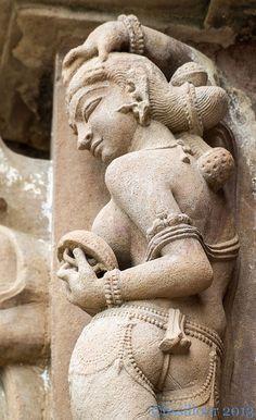 2.Indian beauty UNESCO site.Khajuraho..India | by geolis06