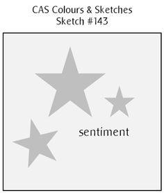 CAS Colours & Sketches: Challenge #143 - Sketch