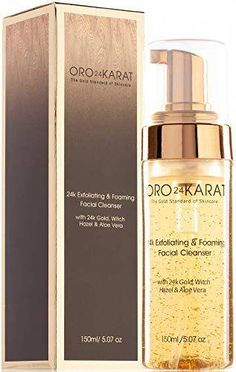 Great for ORO24KARAT Exfoliating Foaming Facial Cleanser with 24k Gold, Witch Hazel, and Aloe Vera Beauty. [$27.99] moretopshopping from top store #AloeVeraFaceMask Professional Makeup Case, Boss The Scent, Aloe Vera Face Mask, Beige Blonde, Cosmetic Storage, Exfoliant, Eye Brushes, Schaum, Cleanser
