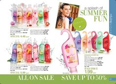 eBrochure | AVON Naturals Body Spray, Lotion and Shower Gel. Buy Online at https://andreafitch.avonrepresentative.com/