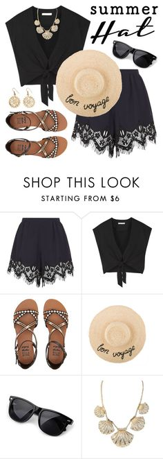 """Summer Hat"" by lgb321 ❤ liked on Polyvore featuring Chloé, Alice + Olivia, Billabong, Kate Spade and Urbiana"
