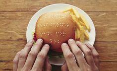 Wimpy braille burger campaign