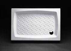 Piatto doccia madera 120x80 decape' bianco Piatti