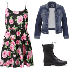 como usar coturno + vestido by gessilene-ferreira on Polyvore featuring moda and maurices