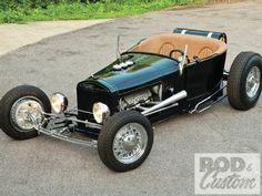 Steve Andersen's 1927 Ford Model T Modified