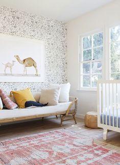 Darling Nursery Via The Animal Print Shop