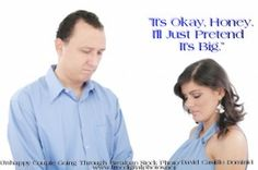 """Woman Consoling Husband About His """"Size"""""""