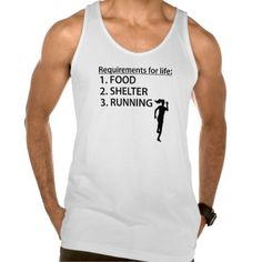 Food Shelter Running Tank Top Tank Tops