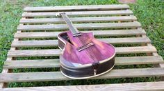 """Electro acoustic guitar Handmade Luthier fanned fret """"Raulo"""" by RauloGuitars on Etsy https://www.etsy.com/listing/216830104/electro-acoustic-guitar-handmade-luthier"""