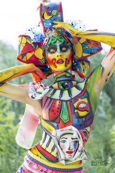 WBF 2014 | SFX Bodypainting Qualification 'Pop Art'  Photography: Atelier 'et Lux', Artist ID214: Yulia Vlasova - Russia