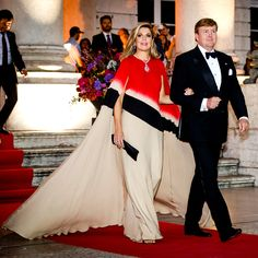 ♥•✿•QueenMaxima•✿•♥...King Willem's and Queen Maxima's visit to Portugal
