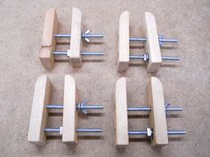 Homemade Rugged Handy Clamps / Serre-joints maison utiles et costauds