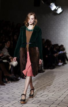 forest green, rich chocolate brown, golden brown, teal, and salmon. (via the sartorialist)