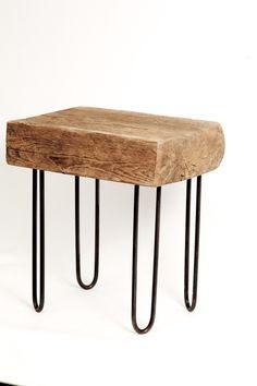 Tables en bois de r cup ration sur pinterest meubles en for Table basse recuperation