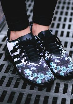 ❤ Folloω me @Beezpoopoo Adidas ZX Flux Smooth (via Kicks-daily.com)
