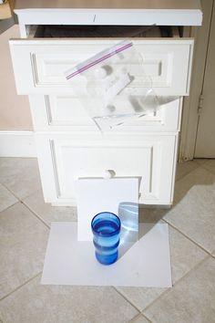 Мини-студия для съемки капель воды