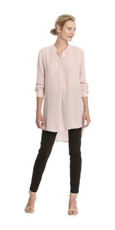 Tunic Shirt from Joe Fresh. Go long in a dreamy tunic blouse with a modern high-low hem. Only $32.