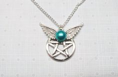 Supernatural / Castiel Necklace http://www.artfire.com/ext/shop/product_view/6771181