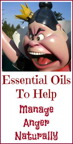 Essential oils to help manage your anger naturally.